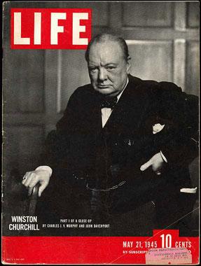 Churchill 1945